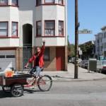 Ritual coffee bike cart
