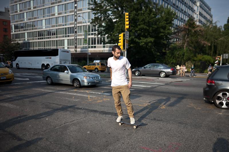skateboarding across houston