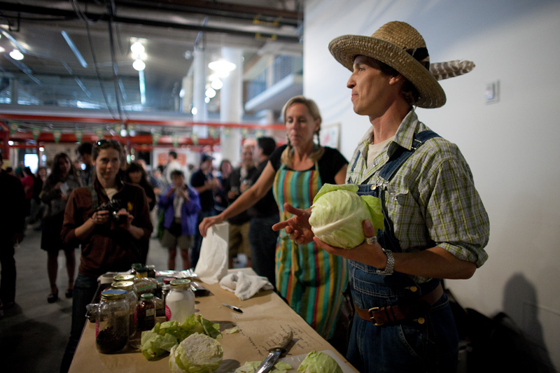 Eat Real Fest 2011 Part 2 – Kraut a thon with Happy Girl Kitchen Co and Farmh