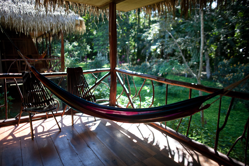 hammock at sacha lodge