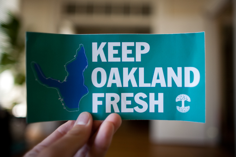 KEEP OAKLAND FRESH