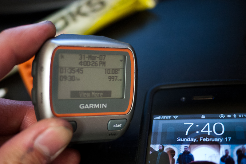 garmin forerunner 310xt time/date problems