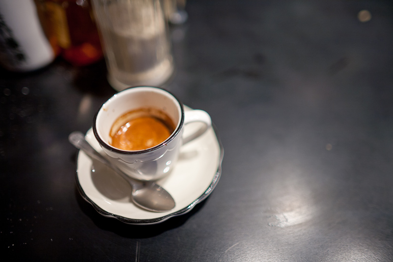 espresso at everyman coffee