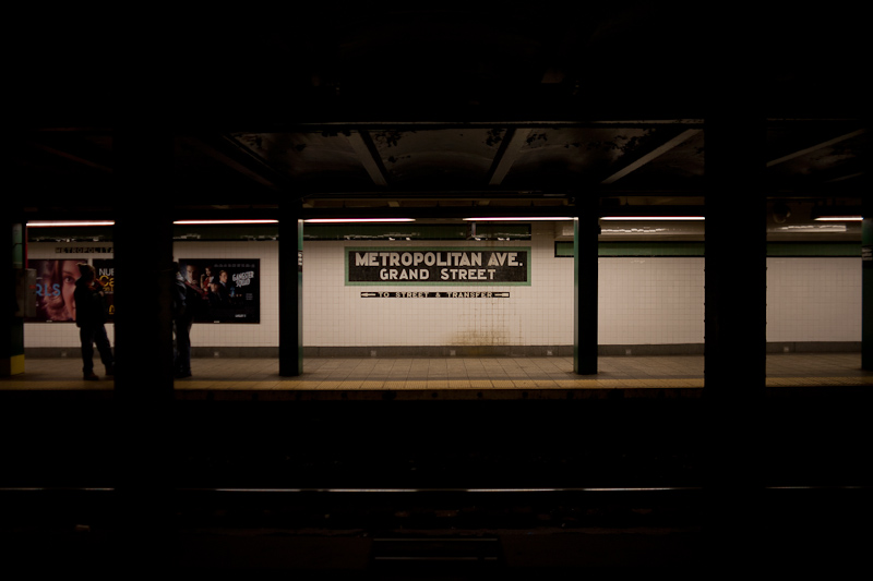 obligatory subway shot