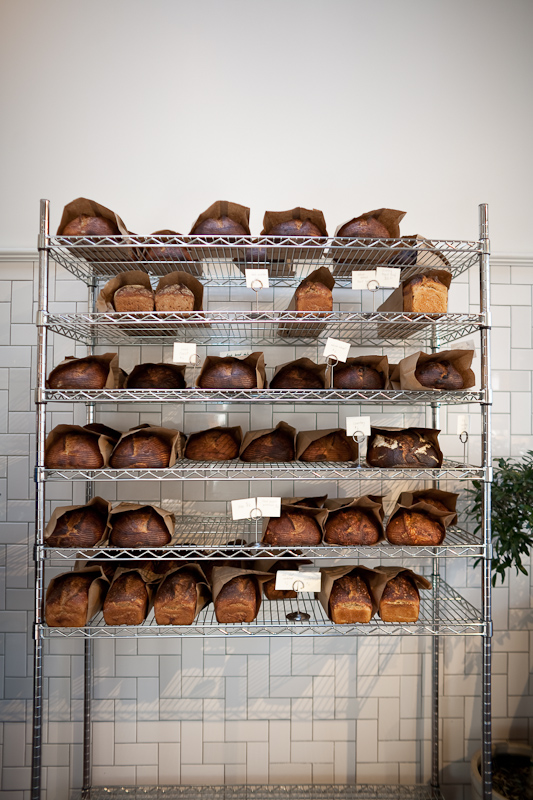 fresh bread at the mill in san francisco