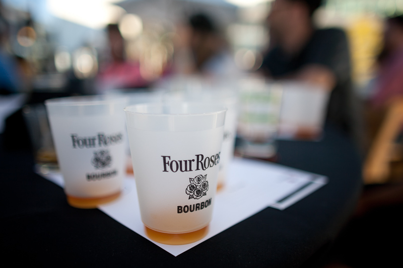 four roses bourbon tasting at eat real festival 2013