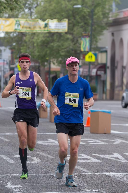 IMoakland running festival - oakland marathon 2014