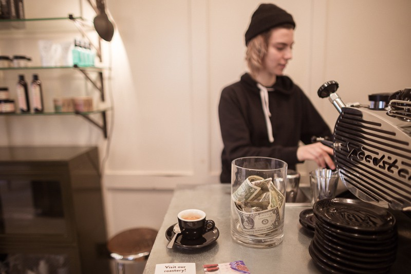 Parlor Coffee, Williamsburg