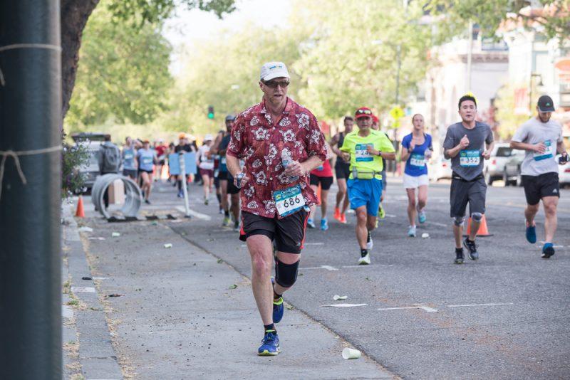 DENNIS LEFBOM Oakland Running Festival - 2017